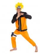 Zwart en oranje Naruto™ kostuum voor volwassenen