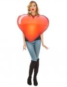 Emoji™ hart kostuum voor volwassenen
