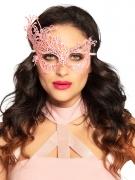 Sexy en elegant roze kant masker voor vrouwen
