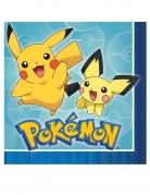 16 papieren Pokemon™ servetten