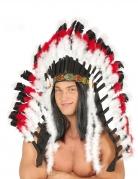 Luxe indianenchef hoofdtooi voor volwassenen