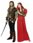Bosdief en middeleeuwse prinses koppelkostuum