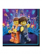 16 papieren The Lego Movie 2™ servetten