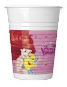 8 plastic Disney Princess Dreaming™ bekers