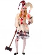 Bloederige harlekijn outfit voor tieners