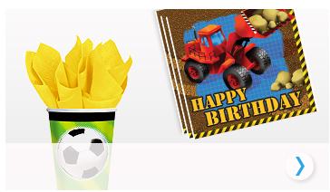 Alles voor jongens verjaardag