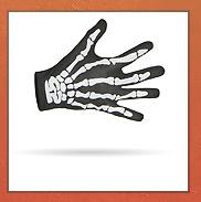 Skeletten Halloween