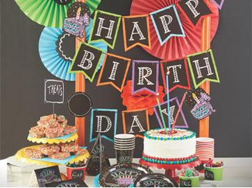 Verjaardagsfeest voor volwassenen