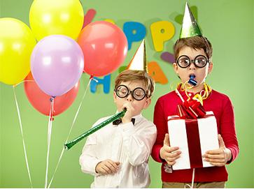 Verjaardags- en kinderfeesten