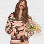 Hippie carnavalskleding