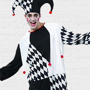 Zwart & Wit carnavalskleding