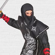 Ninja carnavalskleding