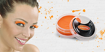 Oranje schmink & make-up